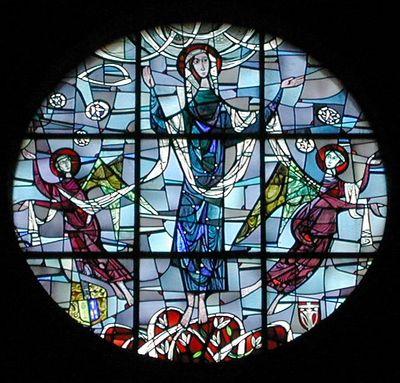 Glas in lood olv hemelvaartkerk tilburg wiki - Moderne overwinning ...